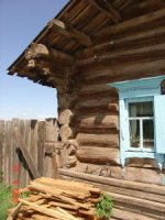 Domy z bala na Syberii