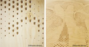 ściana perforowana ze sklejki brzozowej – Koskisen Oy