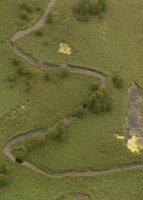 <b><center><small><font color=darkred>Widok doliny Rospudy<br> z balonu.</b>(Fot. K. Brzezińska)</font></small></center>