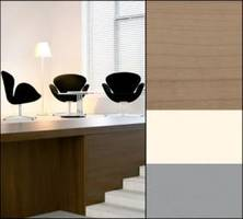 <font color=gray>Lounge dekore<br>Dekory Sonae Indústria<br> na zdjęciu Wiśnia Diament,<br> Nature i Średnio-szary<br> do  szlachetnych elementów<br> wyposażenia wnętrz</font>