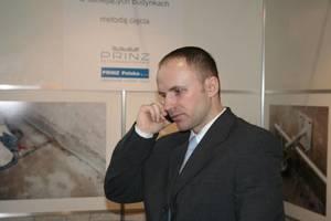 Maciej Nowak, kierownik sprzedaży w spółce Prinz Polska