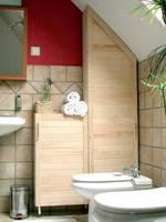 Pełne fronty sprawdzą się<br> także w łazience