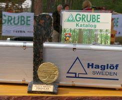 Złoty medal targów dla średnicomierza Haglof z oferty firmy Grube