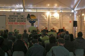 Spotkanie przedstawicieli zarządu Lasów Państwowych z przedsiębiorcami leśnymi