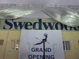 Otwarcie zakładów Swedwood