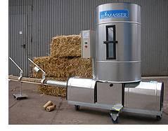 BIOMASSER SOLO - brykieciarka do biomasy
