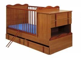 Łóżeczko dla dzieci Max teak