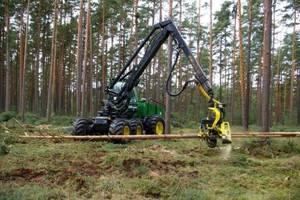 Harwestery wkraczają do polskich lasów, jednak nie zawsze praca takimi maszynami jest w pełni bezpieczna