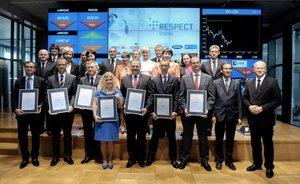 Przedstawiciele spółek wchodzacych w skład Respect Indexu