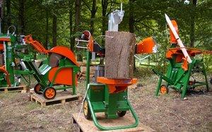 Łuparki i pilarki do przygotowania drewna opałowego