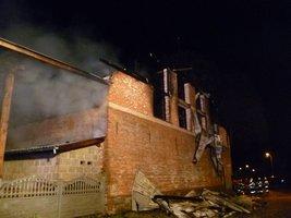 Pożar w firmie Northwood