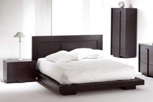 Drewniana sypialnia Monaco kanadyjskiej firmy Huppe