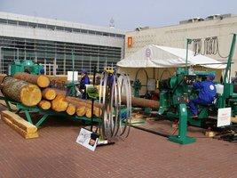 Technologie dla tartacznictwa prezentowane były na placu MTP oraz w pawilonie 4