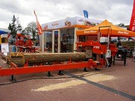 """Wood-Mizer prezentował w tym roku """"mniejsze"""" ze swoich produktów"""