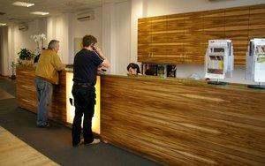 Efektowne oblicze zyskało również zaplecze biurowe firmy JAF Polska