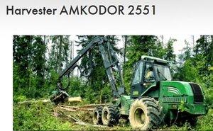 Harvester Amkodor 2551