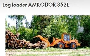 Ładowarka kłód Amkodor 352L