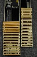 Drewniane kratki do grzejników kanałowych