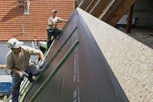 MFP - montaż poszycia dachu