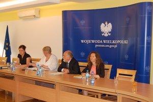 Spotkanie wojewody wielkopolskiego z pracownikami OZPS