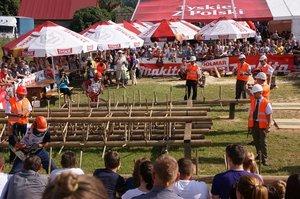 XIV Międzynarodowe Zawody Drwali w Bobrowie