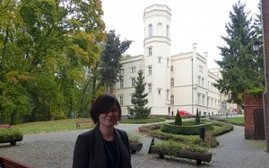 Jolanta Węgiel UP Poznań - Pałac Mierzęcin