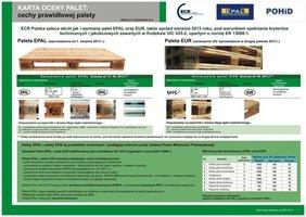 Karta oceny palet EPAL i EUR zieona str. 1 - Cechy prawidłowej europalety
