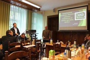 Spotkanie z szefem dolnośląskiego oddziału Stowarzyszenia Inżynierów i Techników Leśnictwa i Drzewnictwa Wojciechem Mazurem w siedzibie RDLP we Wrocławiu.