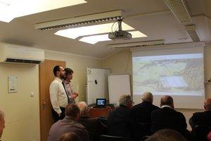 Prezentacja nowoczesnych metod geomatycznych w siedzibie firmy MGGP Aero w Tarnowie.
