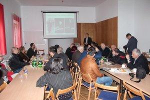 Prezentacja sylwetki gruzińskiego dendrologa Salomona Kurdiani przez Prof. Jacka Oleksyna w Instytucie Dendrologii PAN w Kórniku.