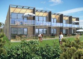 Budownictwo drewniane to domena domów mieszkalnych nie tylko jednorodzinnych.