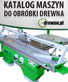 Katalog maszyn do drewna