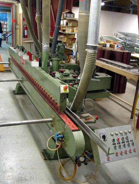 Szlifierka przelotowa do krawędzi WILMSMEYER KSM3