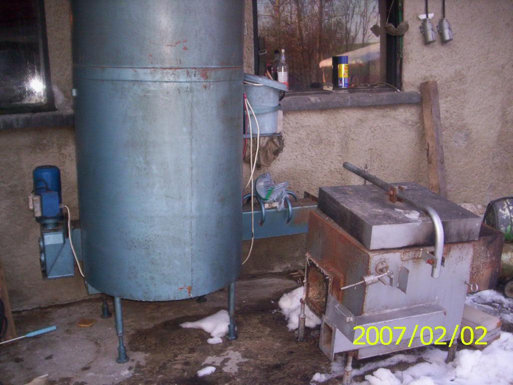Zespół spalania odpadów azso 100