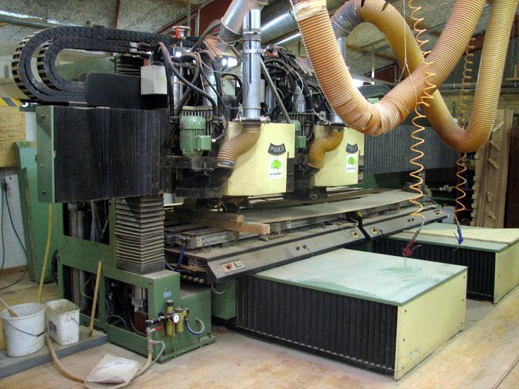 CNC-frezarsko-wiertarskie MAKA typ KPF 2200