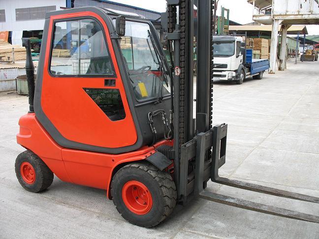 Wózek widłowy Linde H30 D, udźwig 3000 kg, 1991 ro