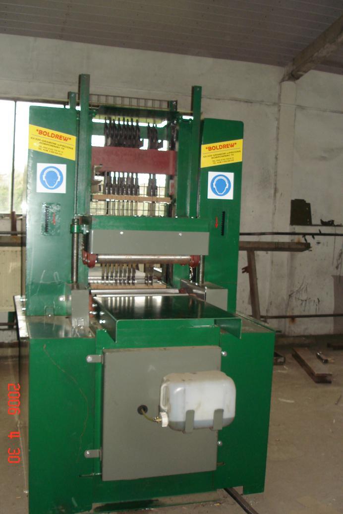 TRAK RAMOWY znak CE Producent maszyn