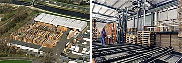 Belgijska firma kupuje duże zbiory palety euro, Na