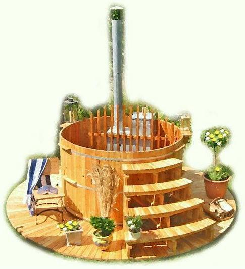 Baseny i sauny ogrodowe z modrzewia