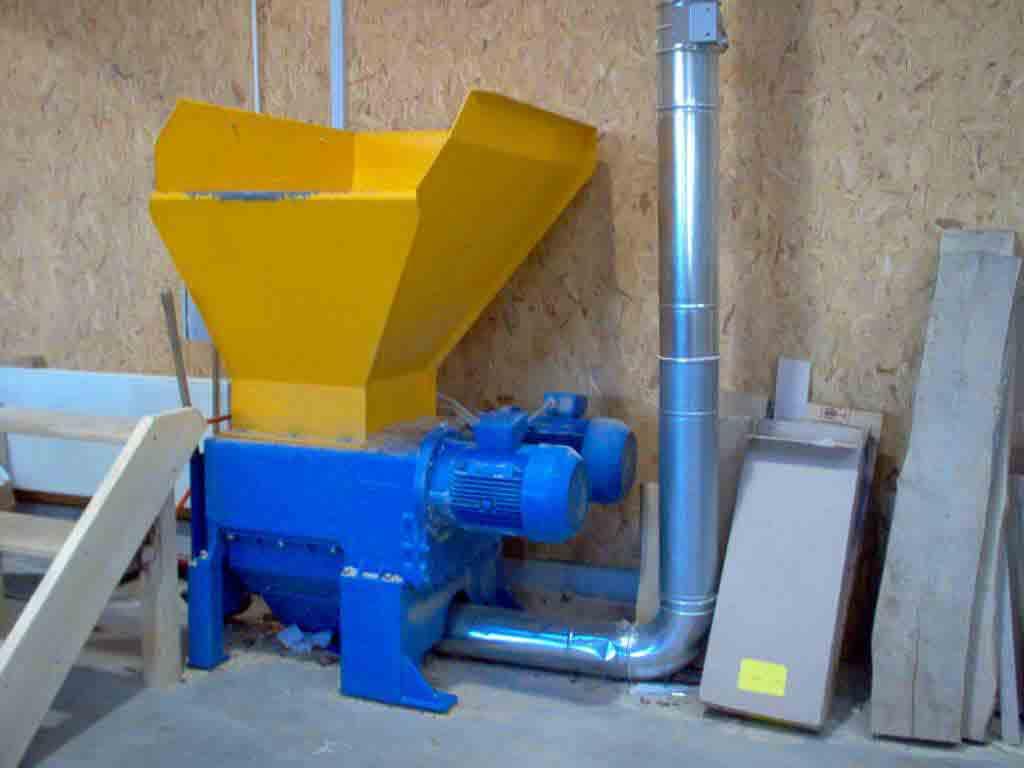 Rozdrabniarka czterowałowa WEIMA ZM 30 2x11 kW