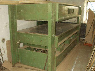 PRASA HYDRAULICZNA BURKLE pulkowa 250 x 130cm