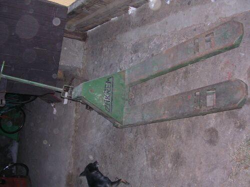 wózek paleciak-200zł netto