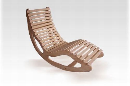 Drewniane leżaki