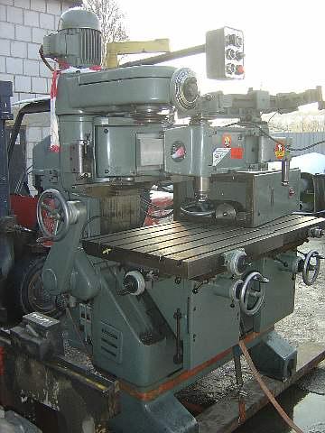 331 Frezarka kopiująca do metalu DECKEL