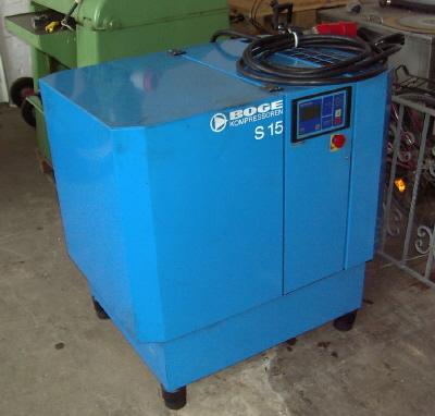 Kompresor srubowy BOGE S15 rok prod 2003
