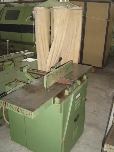 Szlifierka przelotowa do kantów z odpylaczem EUROPA