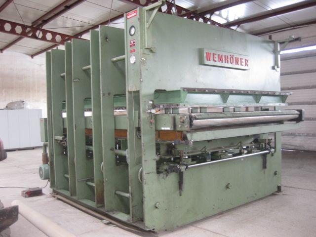 PRASA PRZELOTOWA WEMHONER 3500mm x 2500 mm LINIA