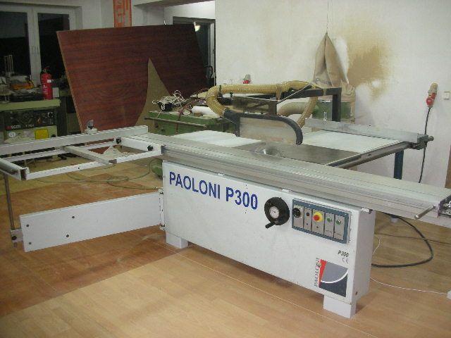 Piła formatowa PAOLONI P300 z podcinaczem
