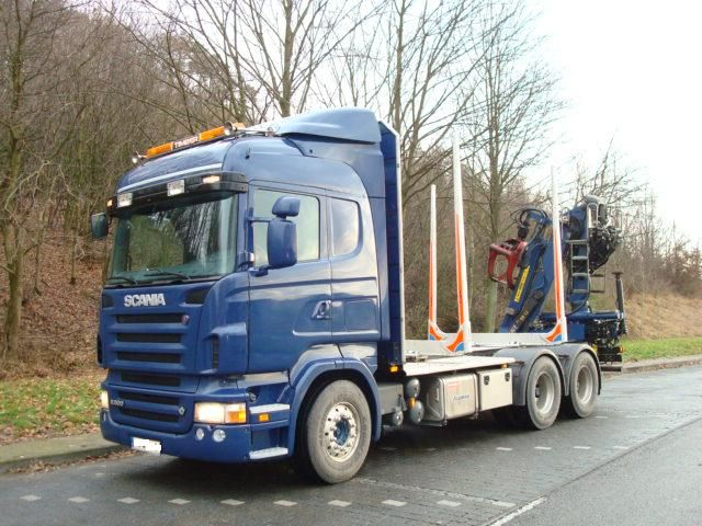 Auto do drewna SCANIA R500 rok 2007