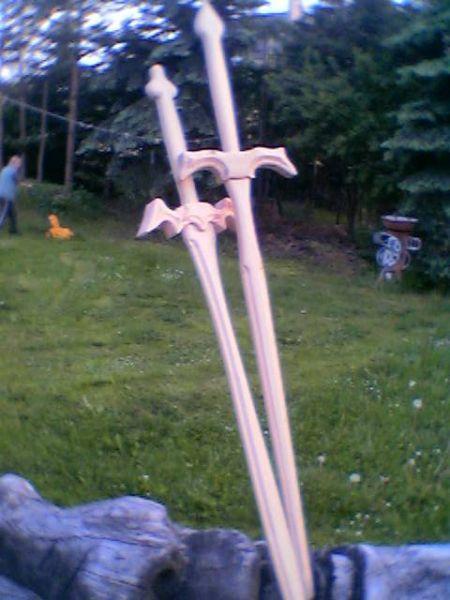 drewniane miecze 130cm-dąb